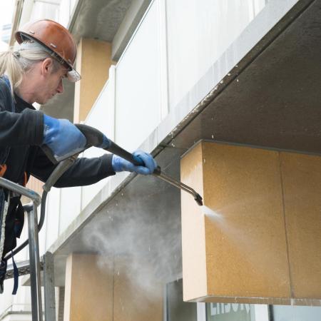 Gevelreiniging met hogedrukreiniger in West-Vlaanderen en Oost-Vlaanderen